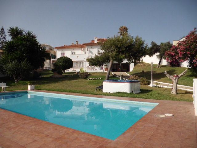 Detached villa located in Las Farolas in El Faro Mijas Costa, it comprises of 6 bedrooms and 3 bathr,Spain