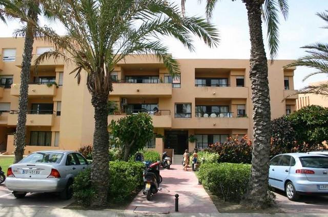 Apartment,  First Line Beach,  Furnished,  Fitted Kitchen,  Parking: Garage,  Garden: Community,  Fa,Spain