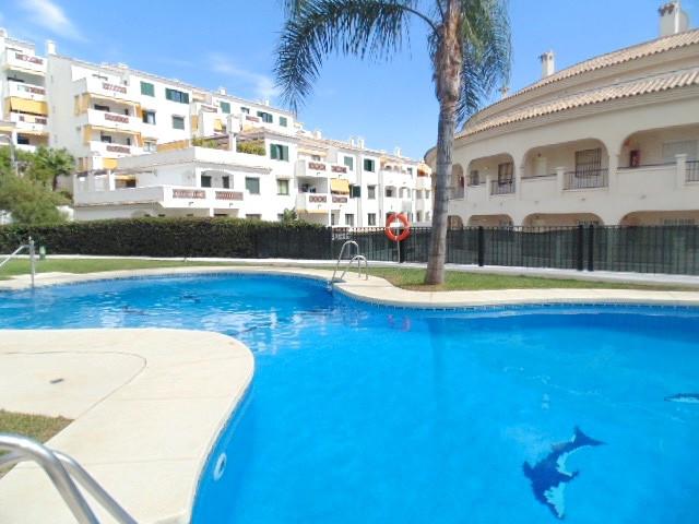 Torrequebrada area of Benalmadena Costa.   Lovely 2 bedroom, 1 bathroom raised ground floor apartmen,Spain