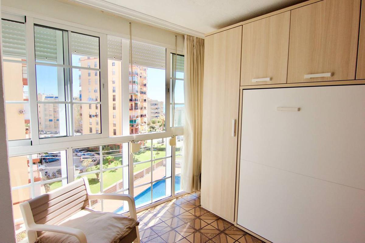 Middle Floor Studio, Playamar, Costa del Sol. Built 21 m².  Setting : Beachfront, Commercial Area, B,Spain