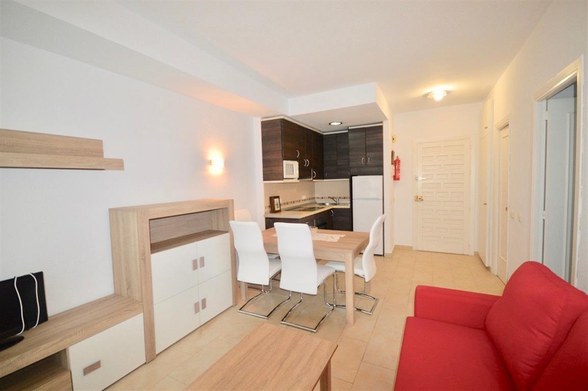 Middle Floor Apartment, Benalmadena Costa, Costa del Sol. 1 Bedroom, 1 Bathroom, Built 44 m², Terrac,Spain