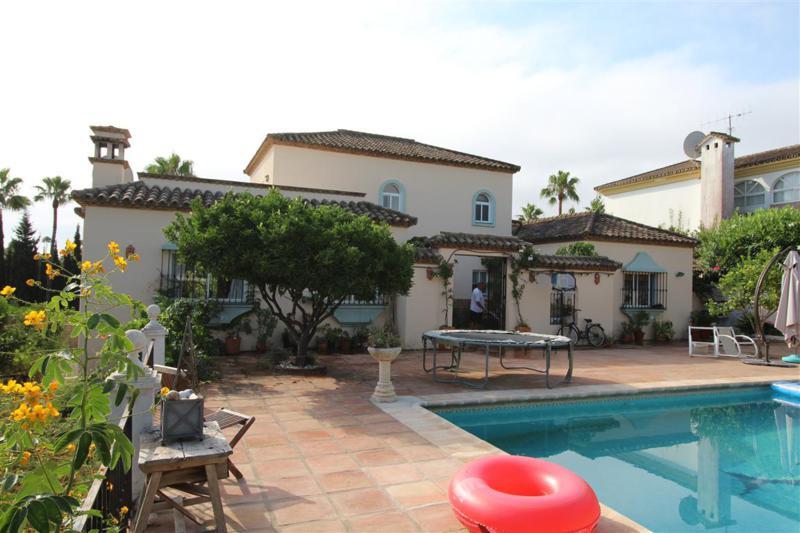 Charming detached villa, located in the prestigious development of Sotogrande, one of the most sough,Spain