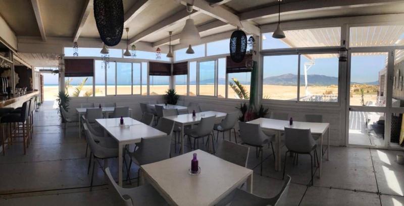 Freehold beachbar / restaurant located in the famous beach of Los Lances in Tarifa (Cadiz), next to ,Spain