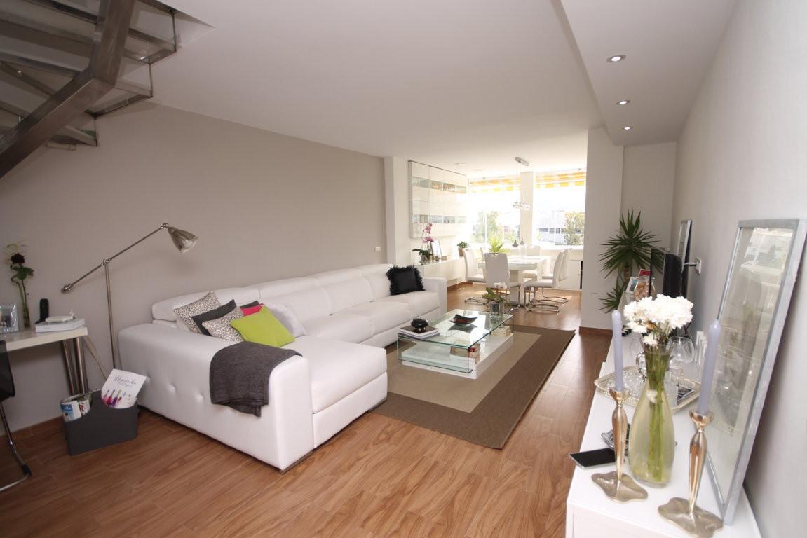 Penthouse duplex in Playa Bajadilla, Marbella  Fantastic refurbihshed and furnished duplex penthouse,Spain