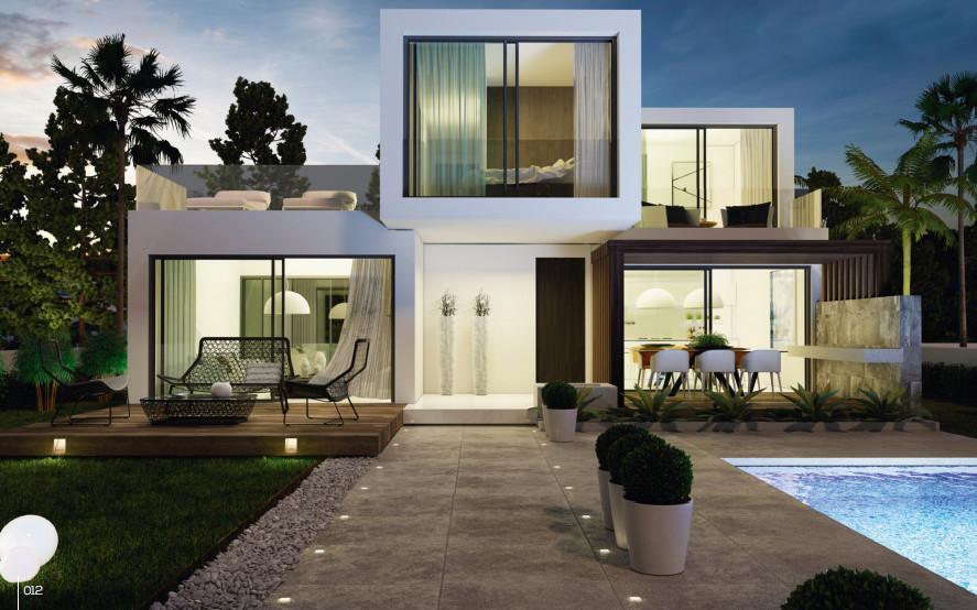 Detached Villa, Estepona, Costa del Sol. 3 Bedrooms, 2 Bathrooms, Built 180 m², Terrace 20 m², Garde,Spain