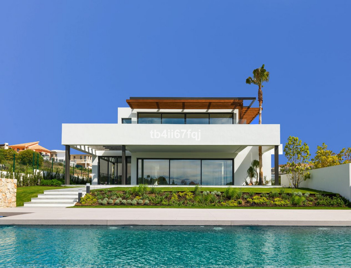 Los Flamingos Golf Resort  Villa under construction Finished end 2016  Brand new villa built to the ,Spain