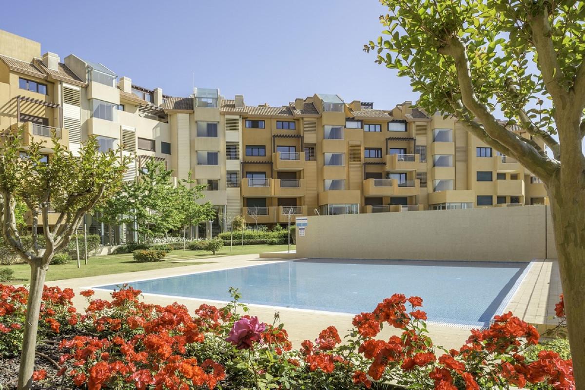 A luxury 3 bedroom ground floor corner apartment in the most prestigous development in Sotogrande Ma,Spain