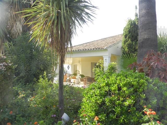 Located in the prestigious residential area of Hacienda Las Chapas, East Marbella, this elegant sout,Spain