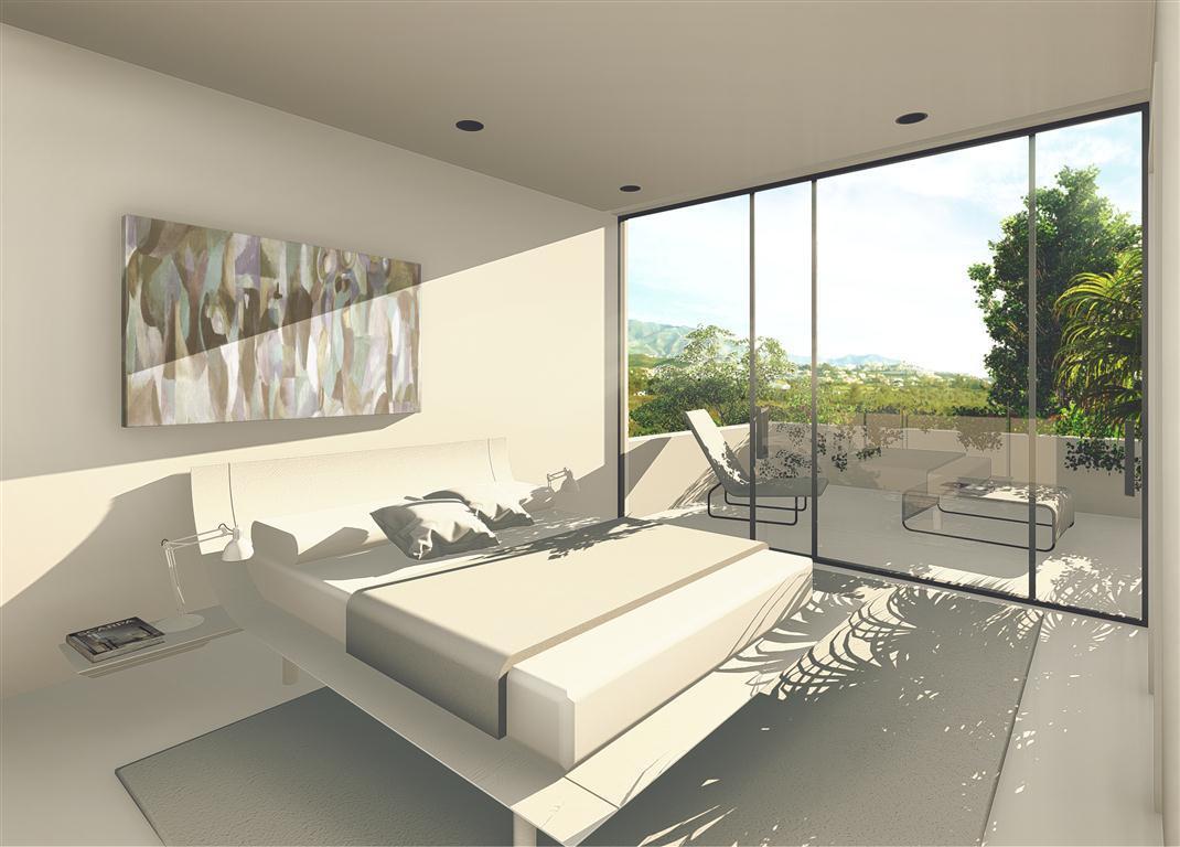 NEW luxury contemporay villas of 4 bedrooms, private pool, gardens, enjoying a superb location in La,Spain