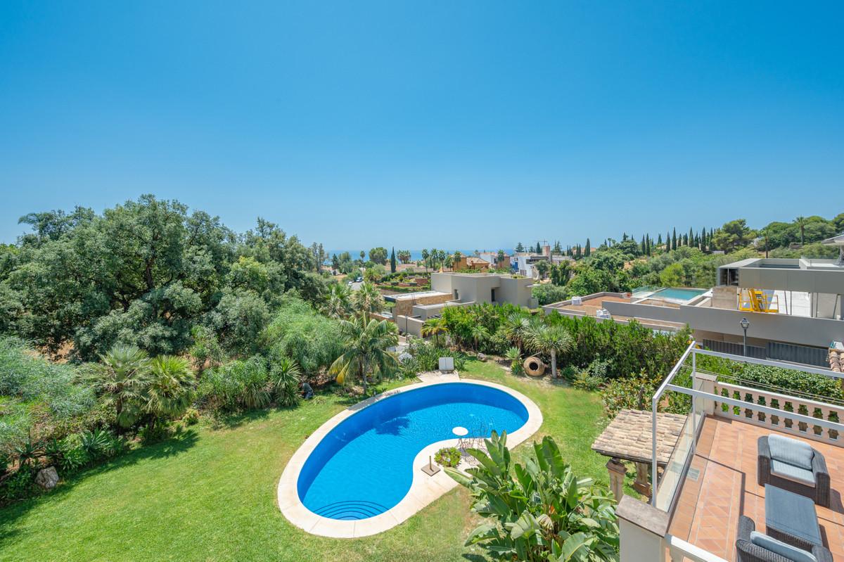 Villa located in one of the most privileged areas of Marbella, Sierra Blanca- Cascada de Camojal. On,Spain