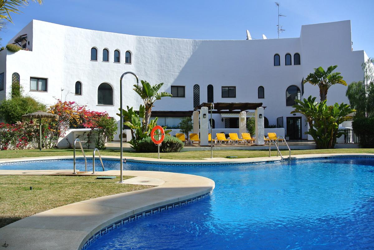 The apartment is located in a quiet urbanization in Las Lomas del Marbella Club on the Golden Mile. ,Spain