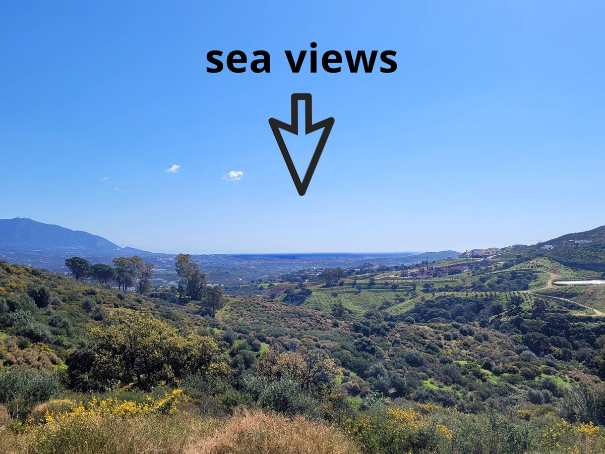 Very idyllic situated Finca-plot in La Mairena with spectacular panoramic-views to the sea and to th,Spain