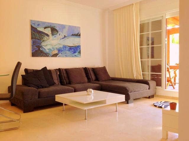 Apartment for sale in Elviria, Marbella East. Fantastic ground floor apartment, located 200 meters f,Spain