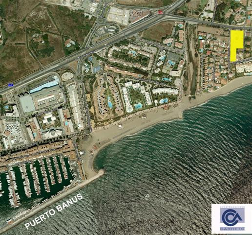 Plot for sale in Puerto Banus