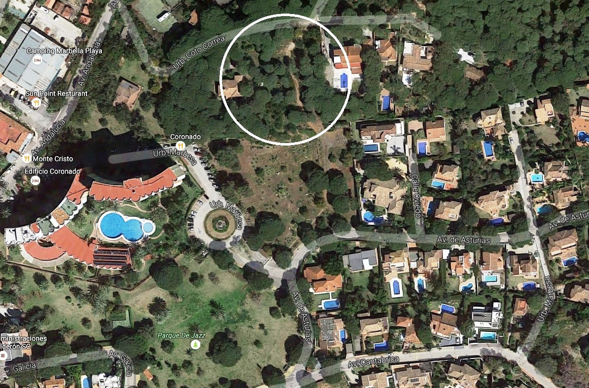 Plot for sale in Marbella