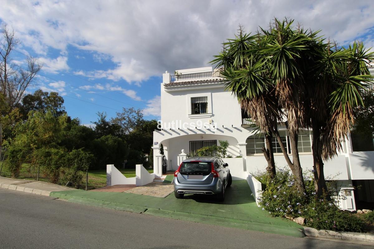 Spacious corner townhouse in Nueva Andalucia, Marbella, a few minutes walk from Puerto Banus. It has,Spain