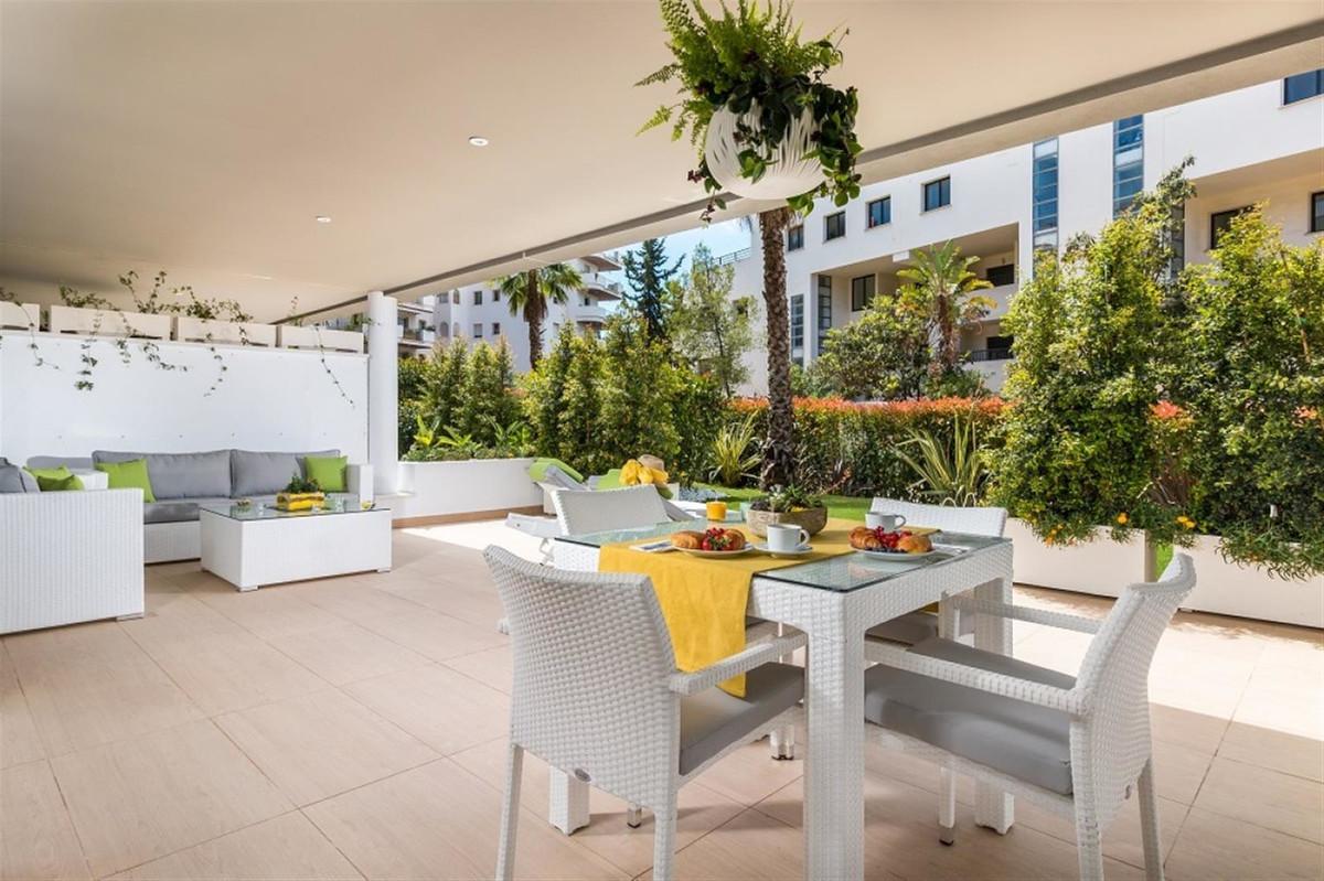 This unique new residential complex in Puerto Banus offers a striking contemporary, elegant design, Spain