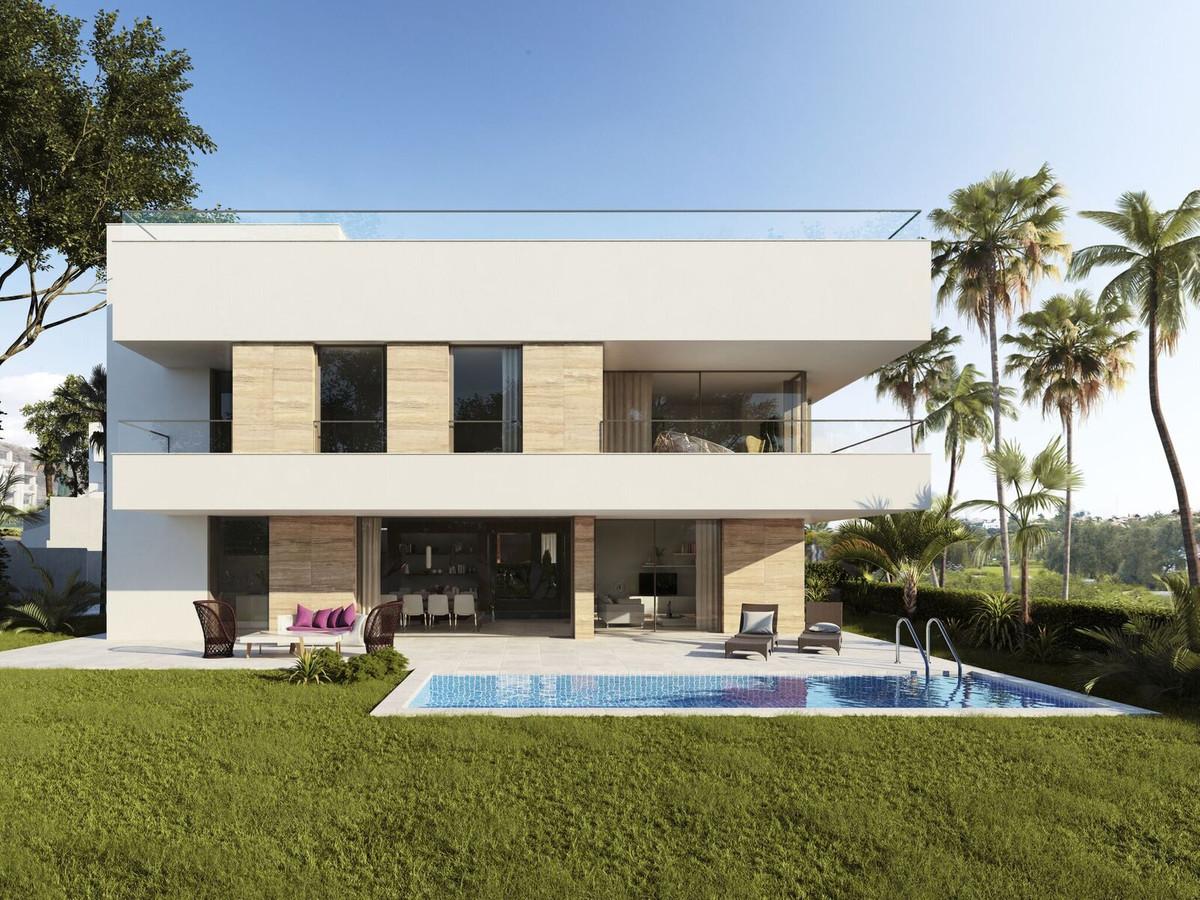 Modern villa located just minutes from Puerto Banus or Estepona, next to El Campanario Golf Resort. ,Spain