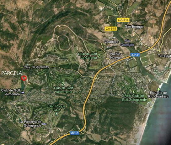 Urban plot of 1.865 m2. in the heart of Sotogrande Alto, facing East, ideal for developing project v,Spain