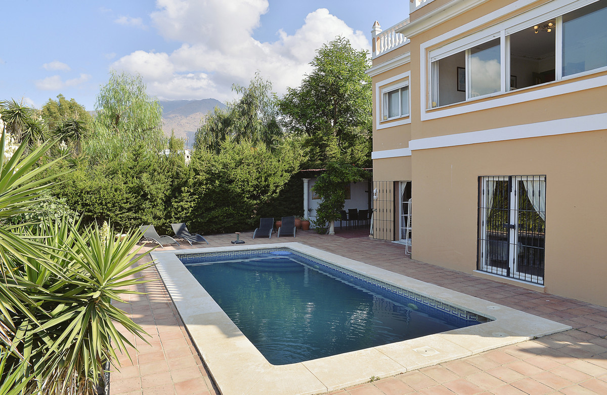 This beautiful villa is located between two golf courses, near the sea and a short distance from the,Spain