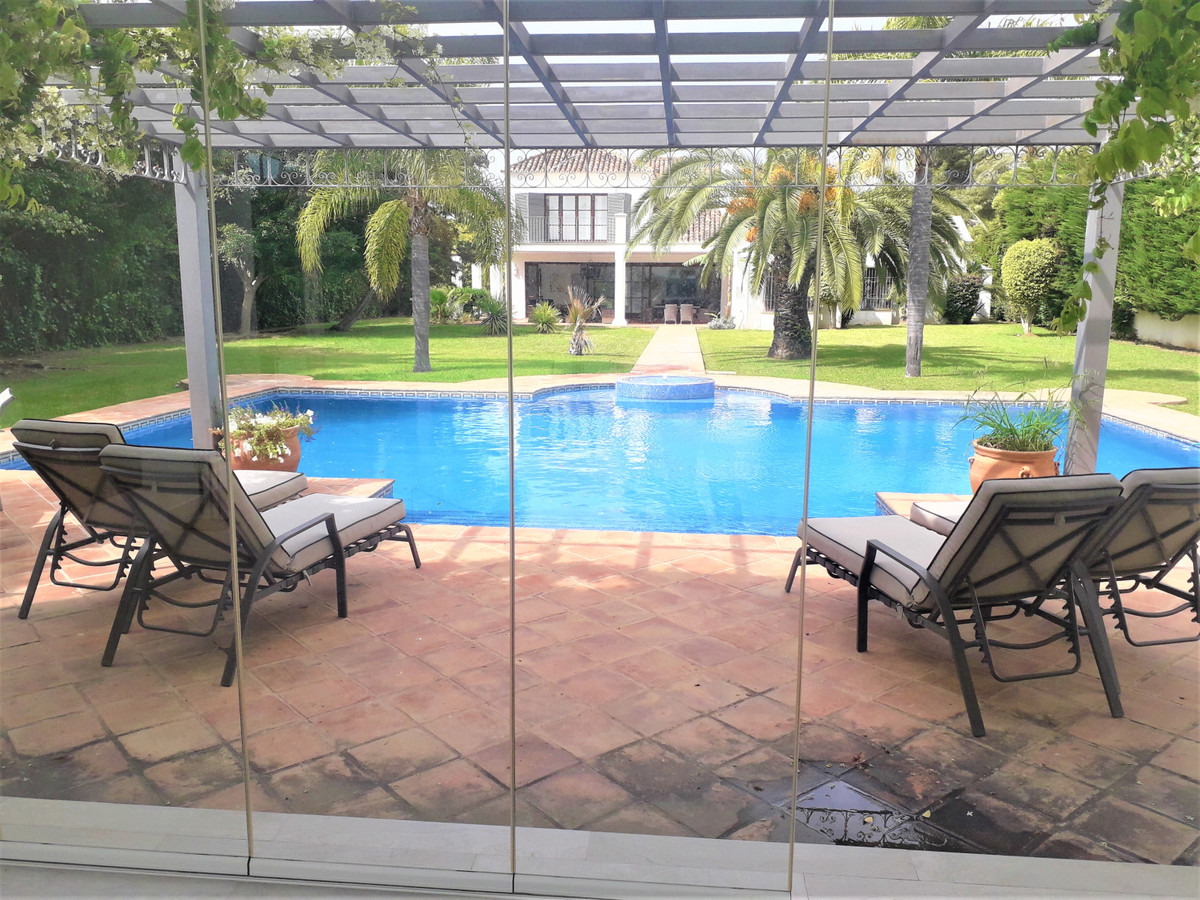 Classic Guadalmina villa located in one of the best roads in the upscale urbanisation of Guadalmina.,Spain