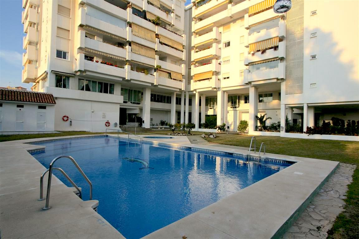 This four bedroom, three bathroom apartment in Fuengirola town is walking distance to the beach and ,Spain