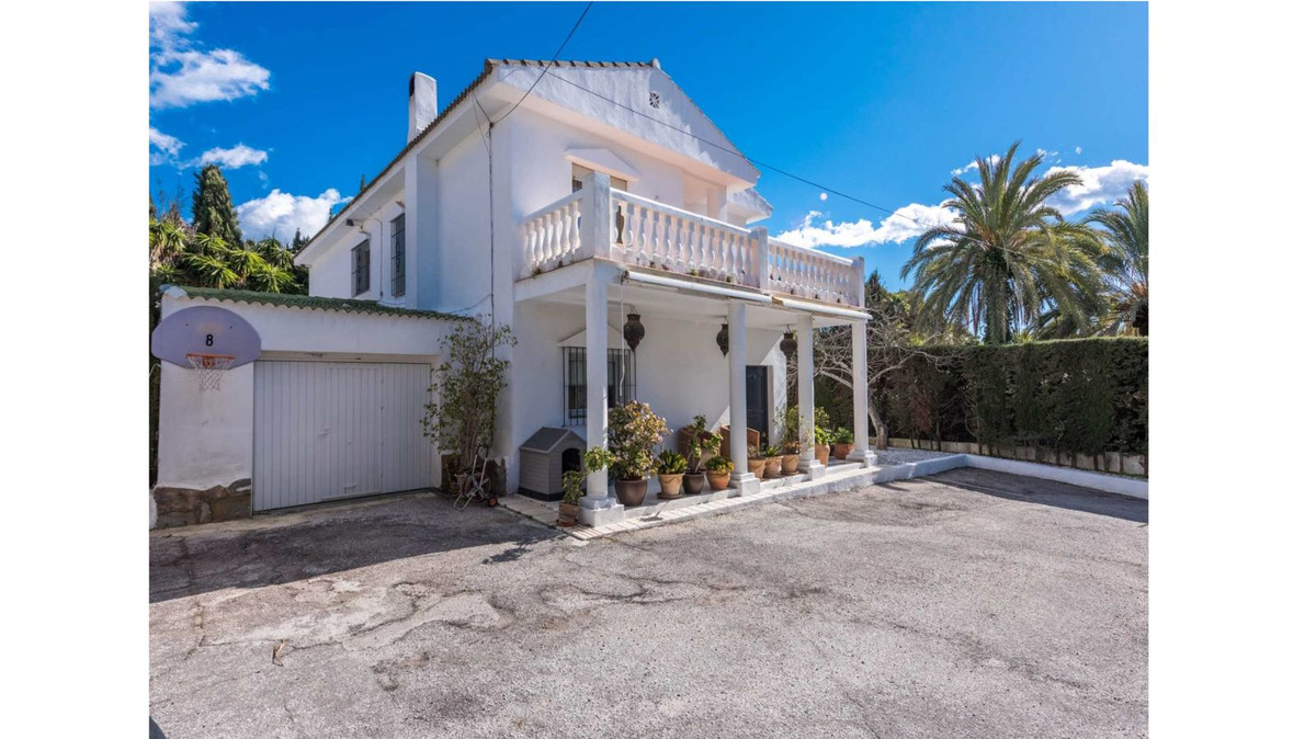 Renovated villa in outstanding location of Rocio de Nagueles, Marbella, Golden Mile. The house is sp,Spain
