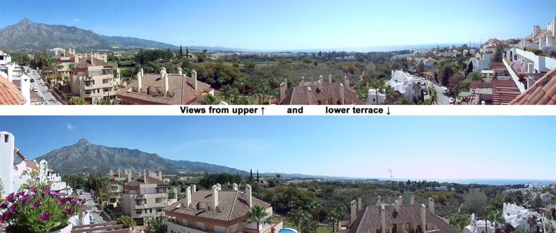 Fantastic 4-bed duplex penthouse in El Coto Real II, Marbella Hill Club, Golden Mile, Marbella. El C,Spain