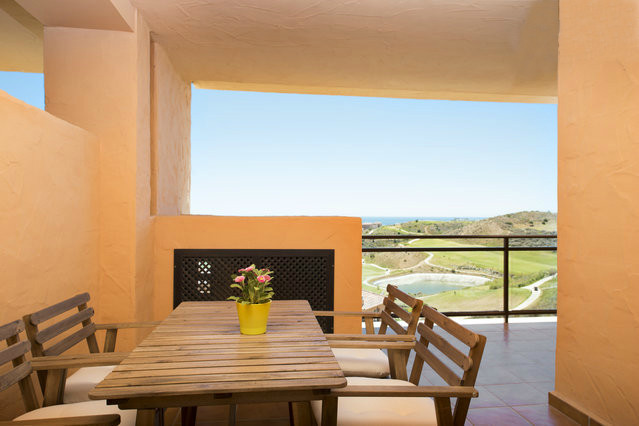 Apartment in spectacular conditions in the hight part of La Cala de Mijas. This house has 2 bedrooms,Spain