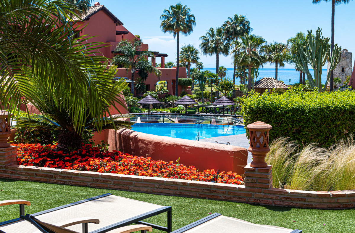 Palatial & luxuriously designed ground floor apartment with an exquisite garden offering perfect,Spain