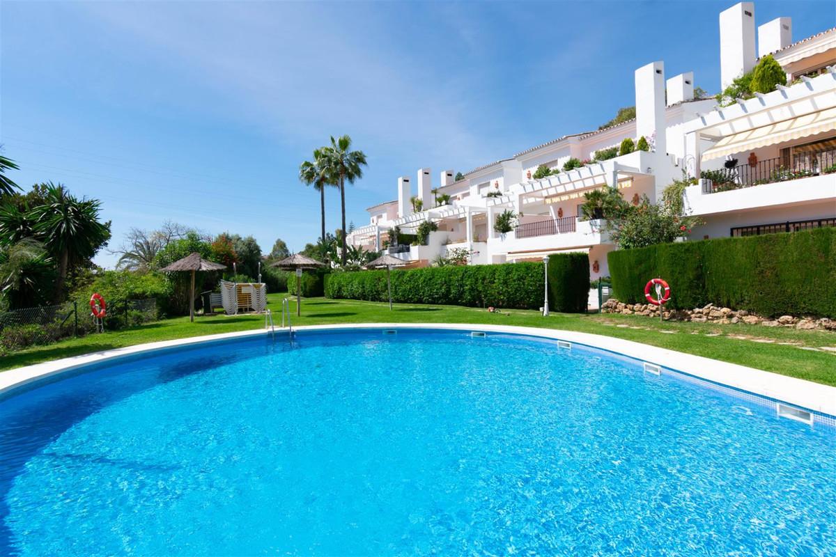 Front line golf duplex corner apartment in Soto de la Quinta , this unit has a private garden with m,Spain
