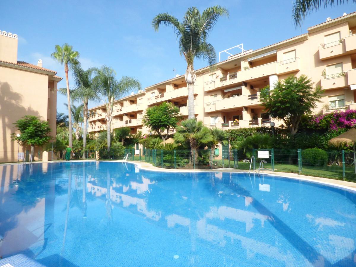 Urbanization Carib Playa, in the urbanization Las Dunas de Carib Playa. Beach side complex.  Apartme,Spain