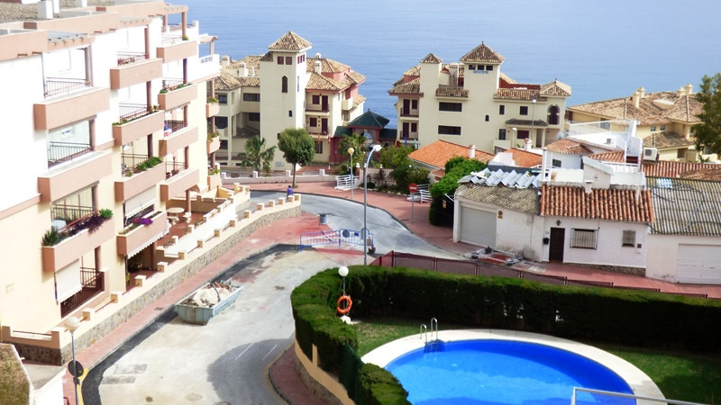 Middle Floor Apartment, Benalmadena Costa, Costa del Sol. 3 Bedrooms, 2 Bathrooms, Built 110 m², Ter,Spain