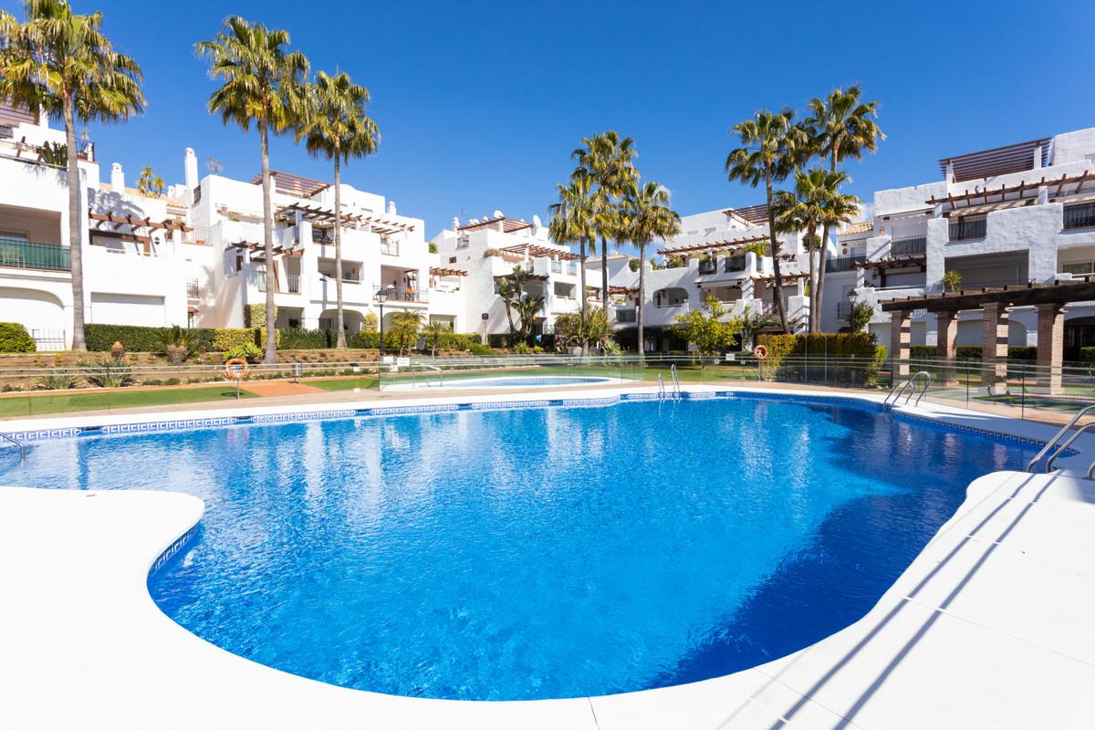 At 150m from the beach of San Pedro de Alcantara we find a Mediterranean village complex of 107 home,Spain