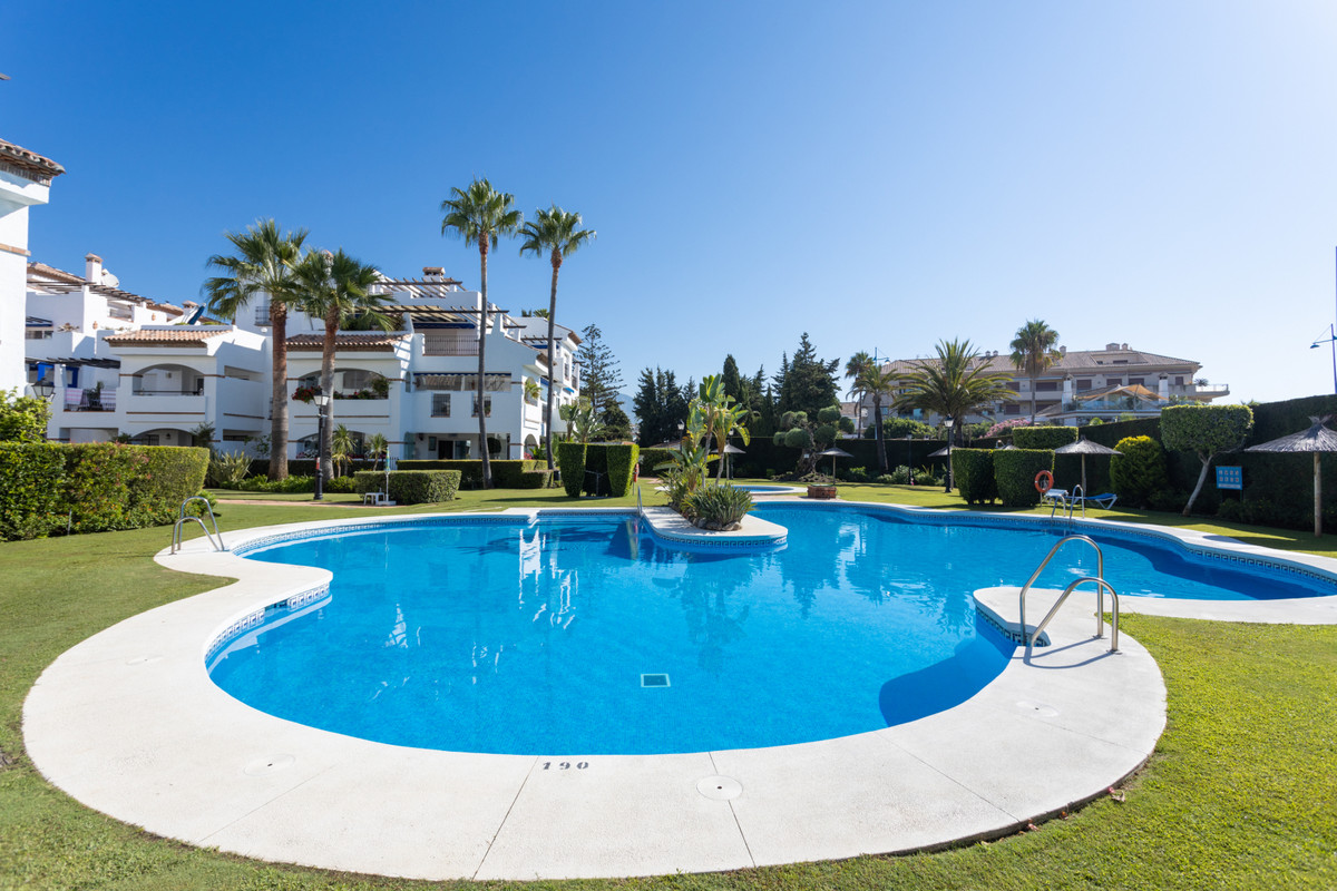 At 150m from the beach of San Pedro de Alcantara we find a Mediterranean village complex of 38 homes,Spain