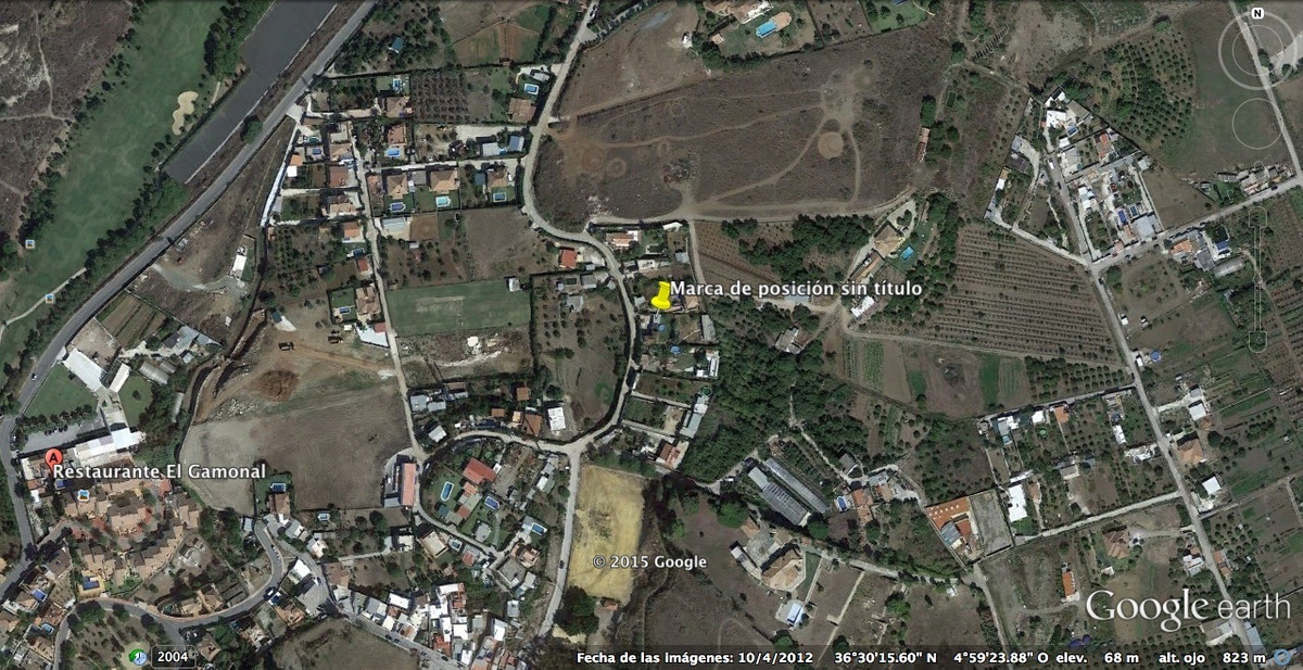 Plot located in San Pedro Alcantara, El Gamonal. It is a land composed of 5 plots without segregatio,Spain