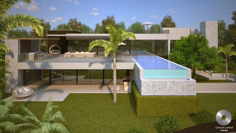 Villa 6 Dormitorios en Venta Marbesa
