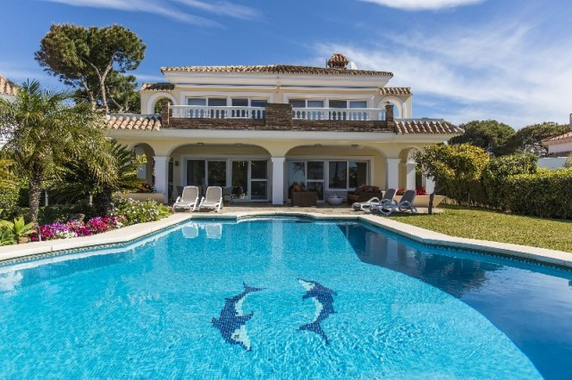 Beautiful villa located at only 100 meters from one of the best beaches of Marbella. Easy walking di,Spain