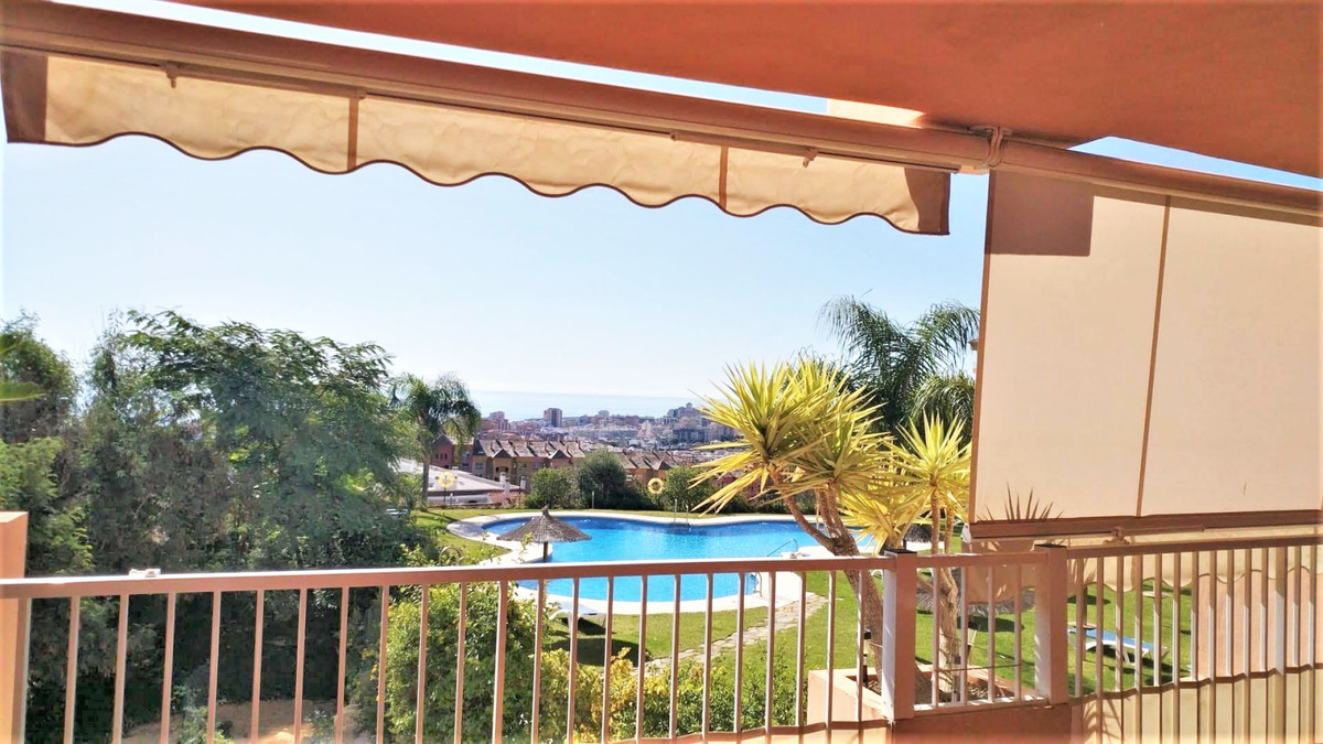 Very large luxury apartment with huge terrace for sale in Los Pacos, Fuengirola, with breathtaking v,Spain