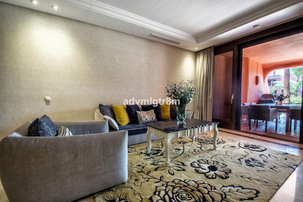 Ground Floor Apartment, New Golden Mile, Costa del Sol. 2 Bedrooms, 2 Bathrooms, Built 143 m², Terra,Spain