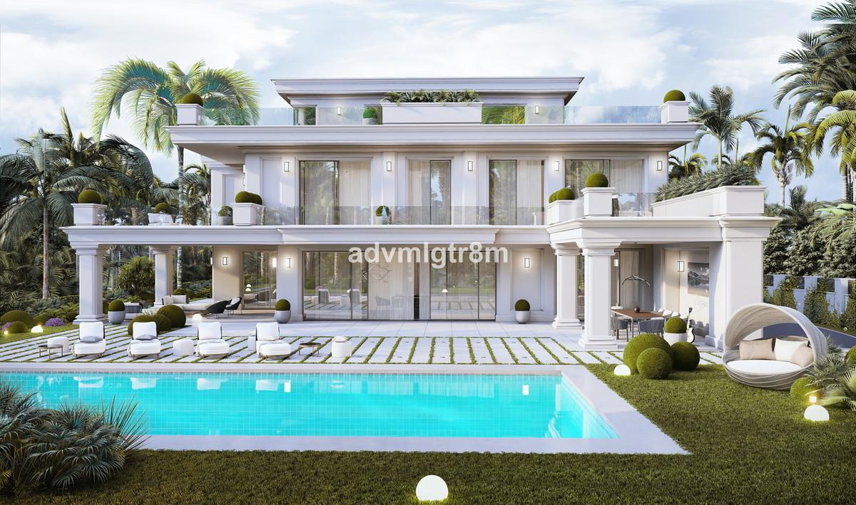 Villa Detached The Golden Mile Málaga Costa del Sol R3739651