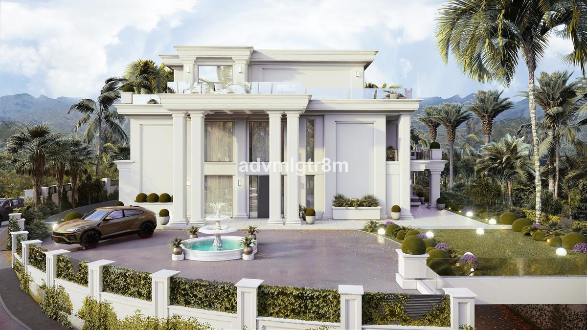 Villa Detached The Golden Mile Málaga Costa del Sol R3739651 3