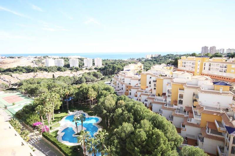 un atico duplex ubicado en zona prestigiosa de Campoamor playa . El piso tiene dos terrazas y cada u,Spain
