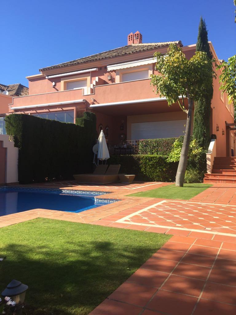 EXCLUSIVE LISTING  Four bedroom semi-detached Villa on Marbella's Golden Mile_ ALTOS DE PUENTE R,Spain