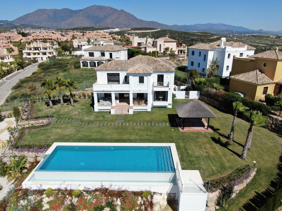 Magnificent brand new attractive Villa, of beautiful Mediterranean design with smart distribution. E,Spain