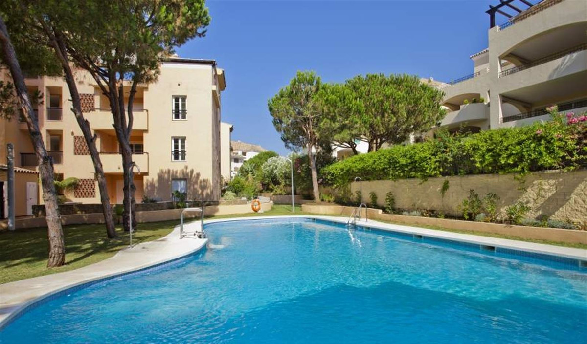 This flat is at Marbella, Malaga, is in the district of Elviria, on floor 1. It is a bright flat, bu,Spain