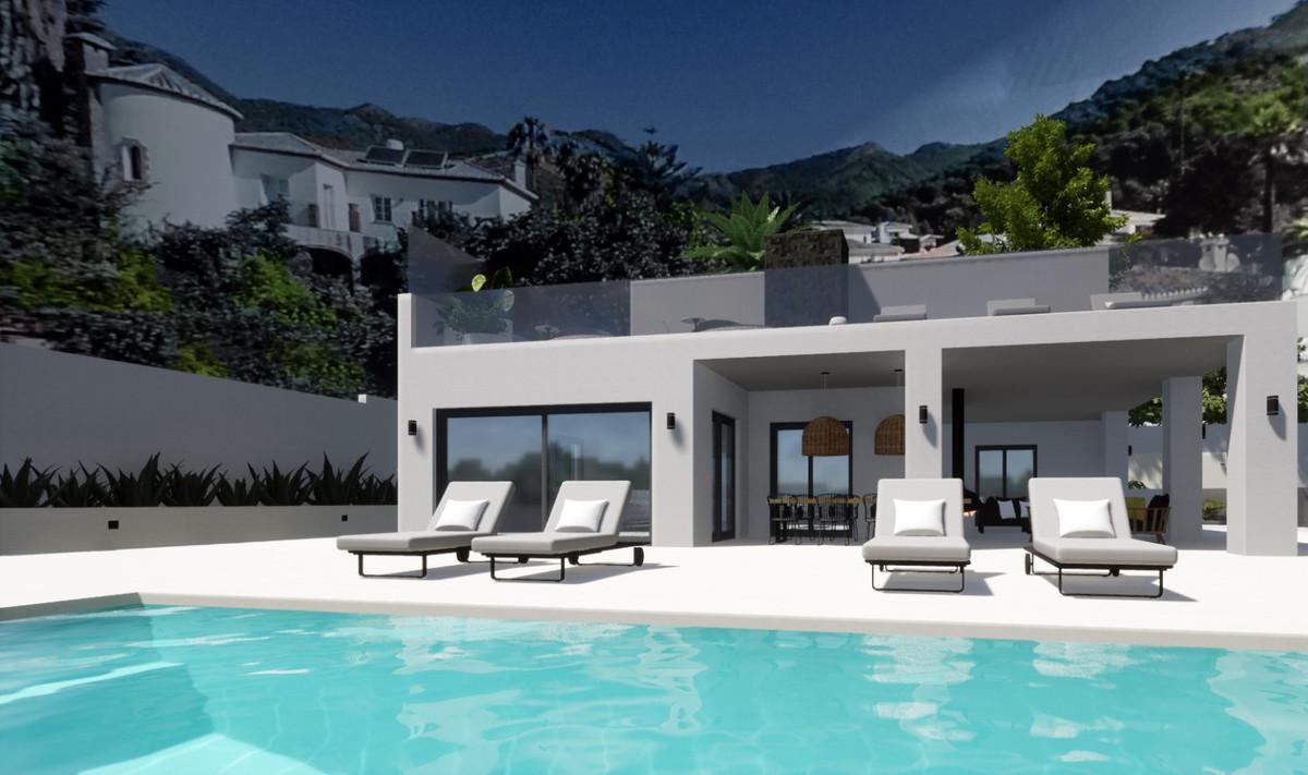 Contemporary villa in Las Terrazas Urbanization, Osunillas, Mijas. It consists of 3 Bedrooms, 2 Bath,Spain