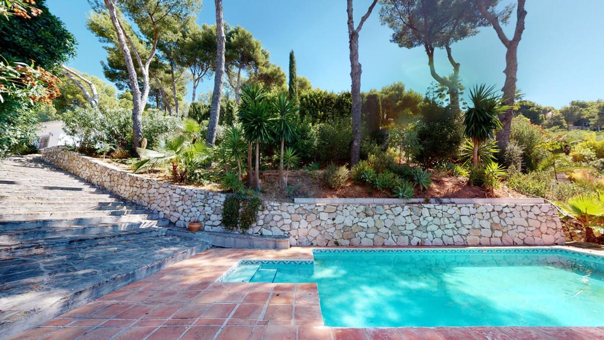 STUNNING PRIVATE VILLA SURROUNDED BY NATURE IN MIJAS PUEBLO!   This 4 bedroom, 3 bathroom Villa welc,Spain