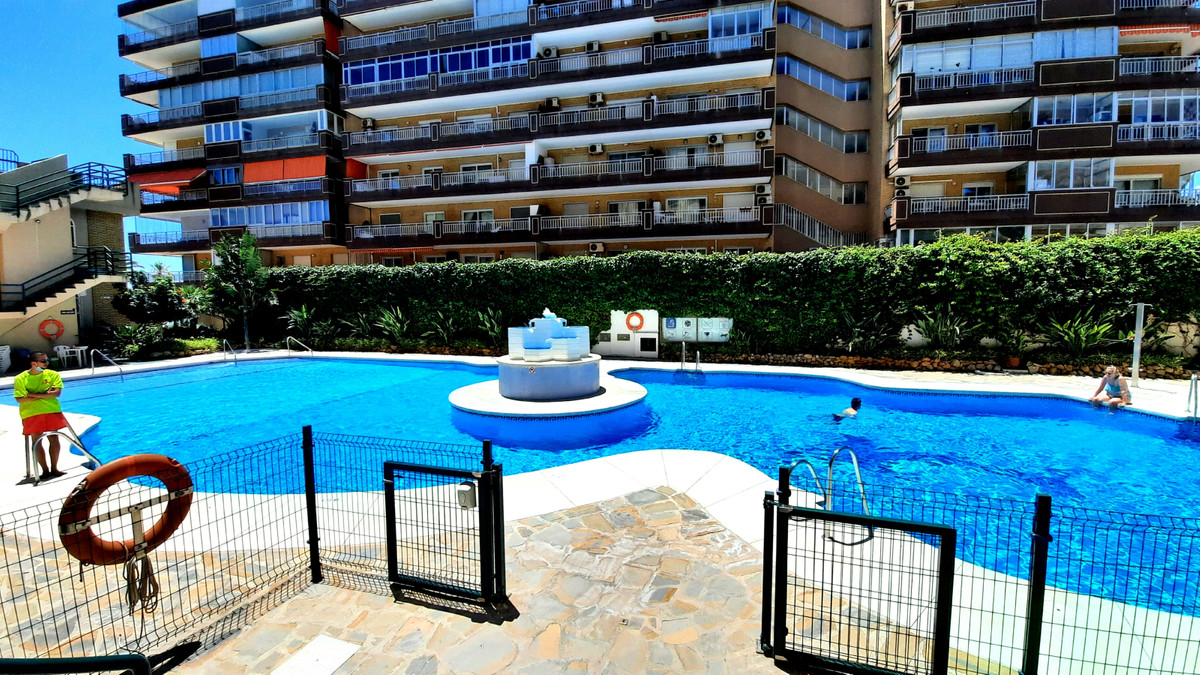 West facing front line beach apartment for sale in Fuengirola on the Costa del Sol. This property ha,Spain