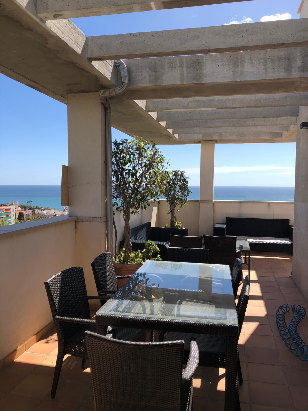 Penthouse, Torremolinos, Costa del Sol. 3 Bedrooms, 2 Bathrooms, Built 111 m², Terrace 170 m².  Sett,Spain